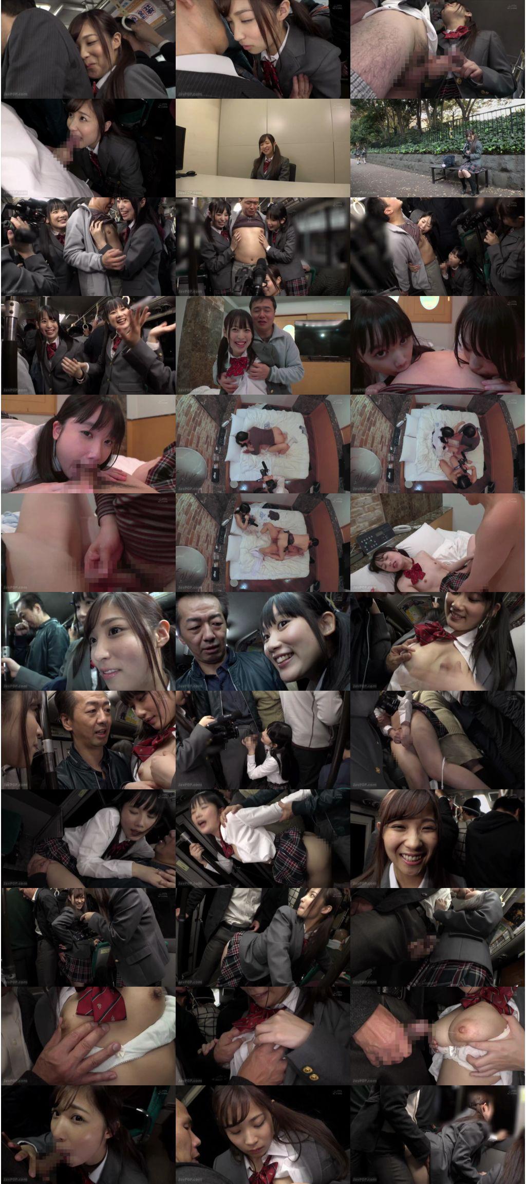 [DANDY-648] 「おじさん好きな女子○生たちにカメラを渡して逆痴漢してもらったら生々しいSEX映像が撮れました」VOL.1 学生服 Amemiya Rin Dandy フェラ 3P