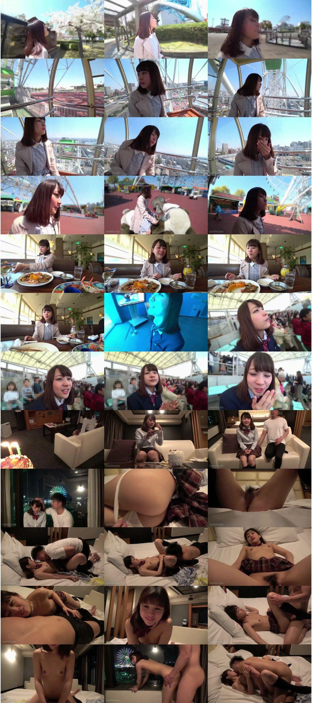 [FC2_PPV-1066447] 【絶対的美少女】地下アイドルと18才の誕生日前日に思い出の制服デート。2年越しの初Hまでの完全ドキュメンタリー映像・・・