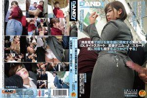 [DANDY-662] 「満員電車で周りを無意識に挑発する美尻女の(OLタイトスカート/若妻デニム/J○スカート)尻に何度も精子をぶっかけてヤる」VOL.1 ぶっかけ Otomi Rina Margaret Hashimoto Aizawa Maria Molester