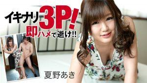 [Heyzo-1990] イキナリ3P!即ハメで逝け!! – 夏野あき
