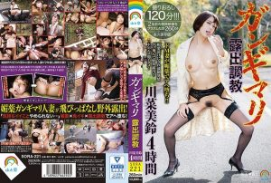 [SORA-221] ガンギマリ露出調教 川菜美鈴4時間 Urination 野外 Training Drug Kawana Misuzu