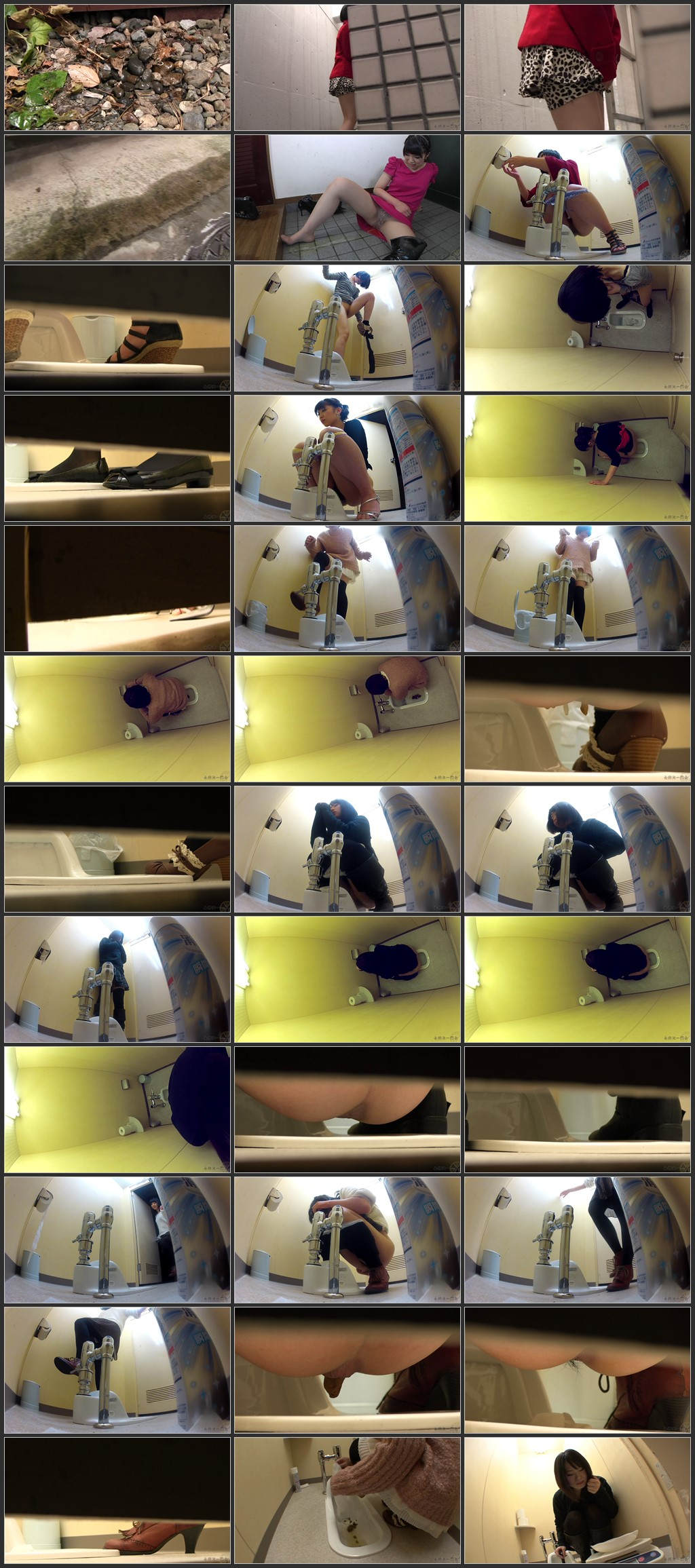 BENT 002 - [BENT-002] - 美女達の排泄パニック 2盗撮 トイレ(盗撮) スカトロ 放尿 スカトロ 脱糞