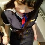 [FC2_PPV-1242532] 【個撮】私立女子校③黒髪少女姉。クールビューティーをCAコスでハメ撮り