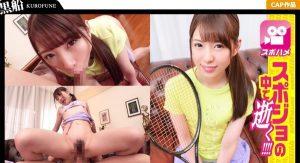 [326SPOR-017] 無許可中出しで見せたキョトン顔が可愛いテニス女子☆真面目だけどエッチ大好きなスポーツ娘とハメ撮りセックス!!久々の快感にビクビク痙攣しまくりww