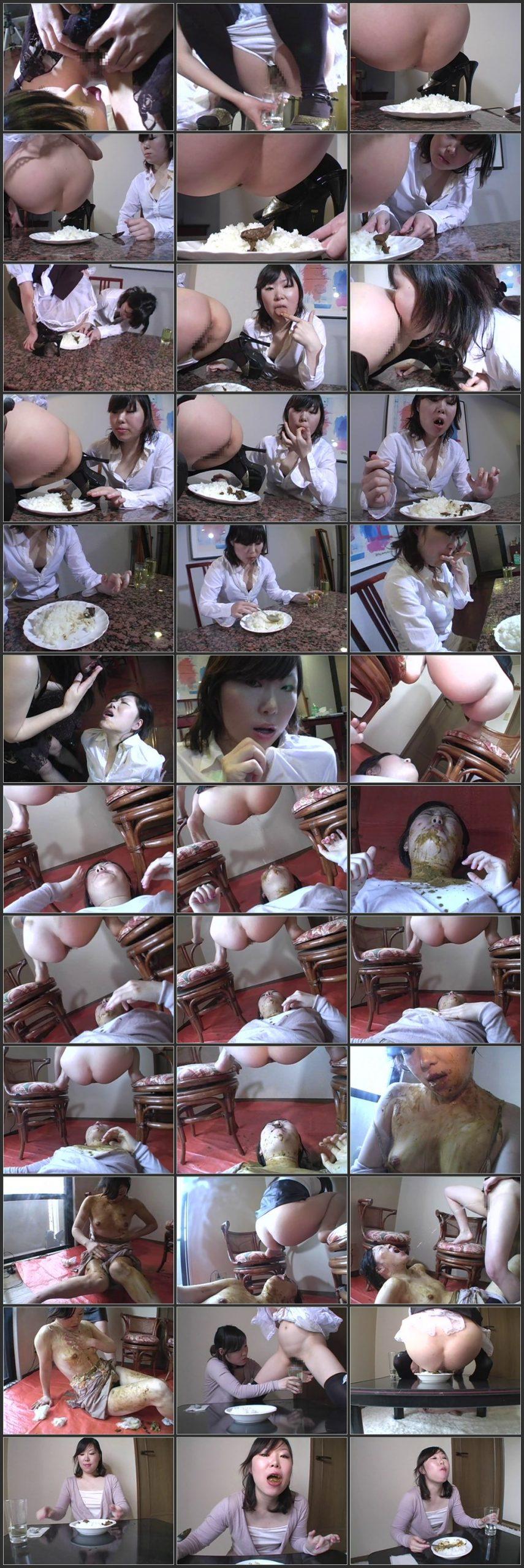 ODVK 06 t scaled - [ODVK-06] - 人の老廃物なら全て食らい尽くす女スカトロ スカトロ 脱糞 スカトロ 食糞 スカトロ 嘔吐