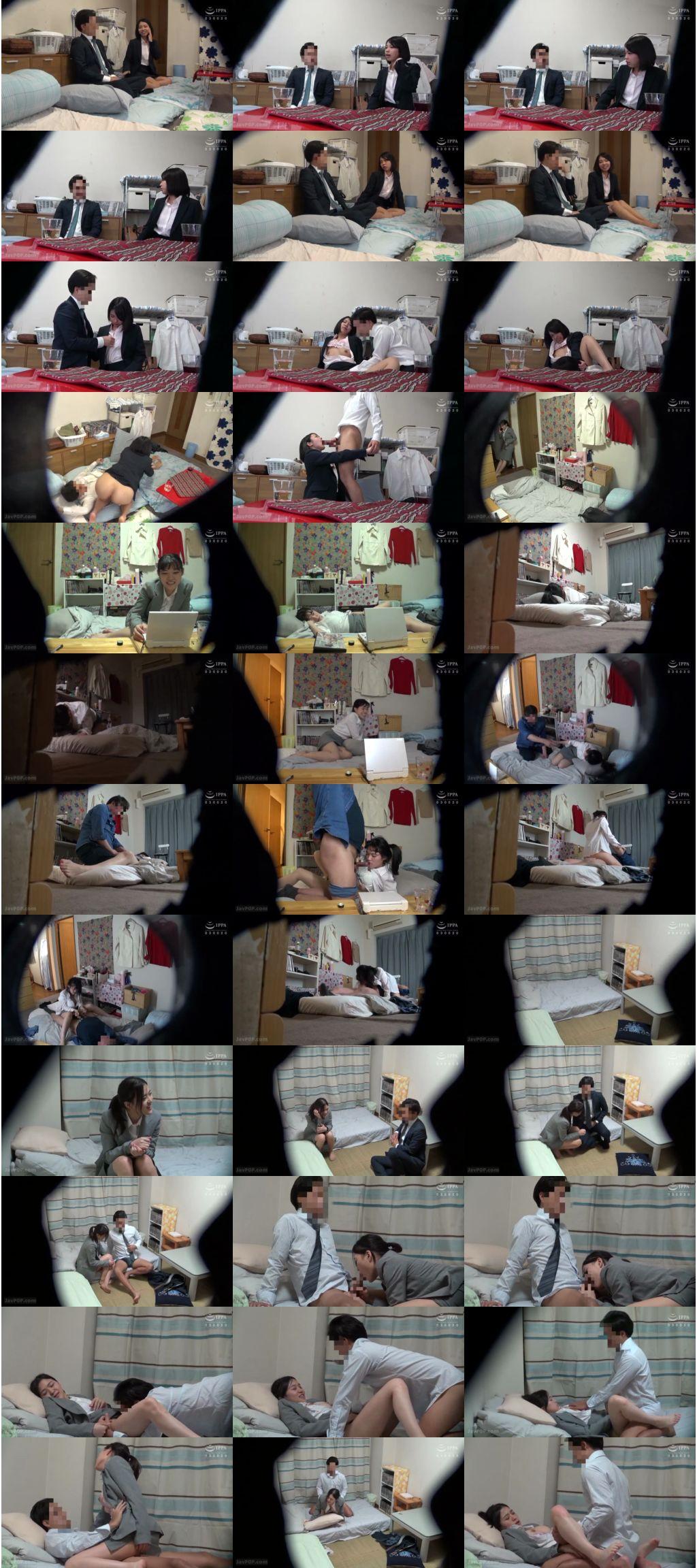 c 2574 s - [C-2574] AVメーカーの社員寮にカメラを仕掛けたらこんな映像撮れた!! 01 ゴーゴーズ Voyeur 盗撮 Go-go-zu Subordinates / Colleagues