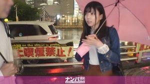 [200GANA-2378] マジ軟派、初撮。 1549  【大雨でも傘をくれる優しい女子をハメ倒す!】新宿で傘を貸してくれた清楚系女子!実はパパ活に勤しむパパ活女子だった!?浮気性の彼氏に見せつけるように他人棒を咥え悶えイク様は必見!