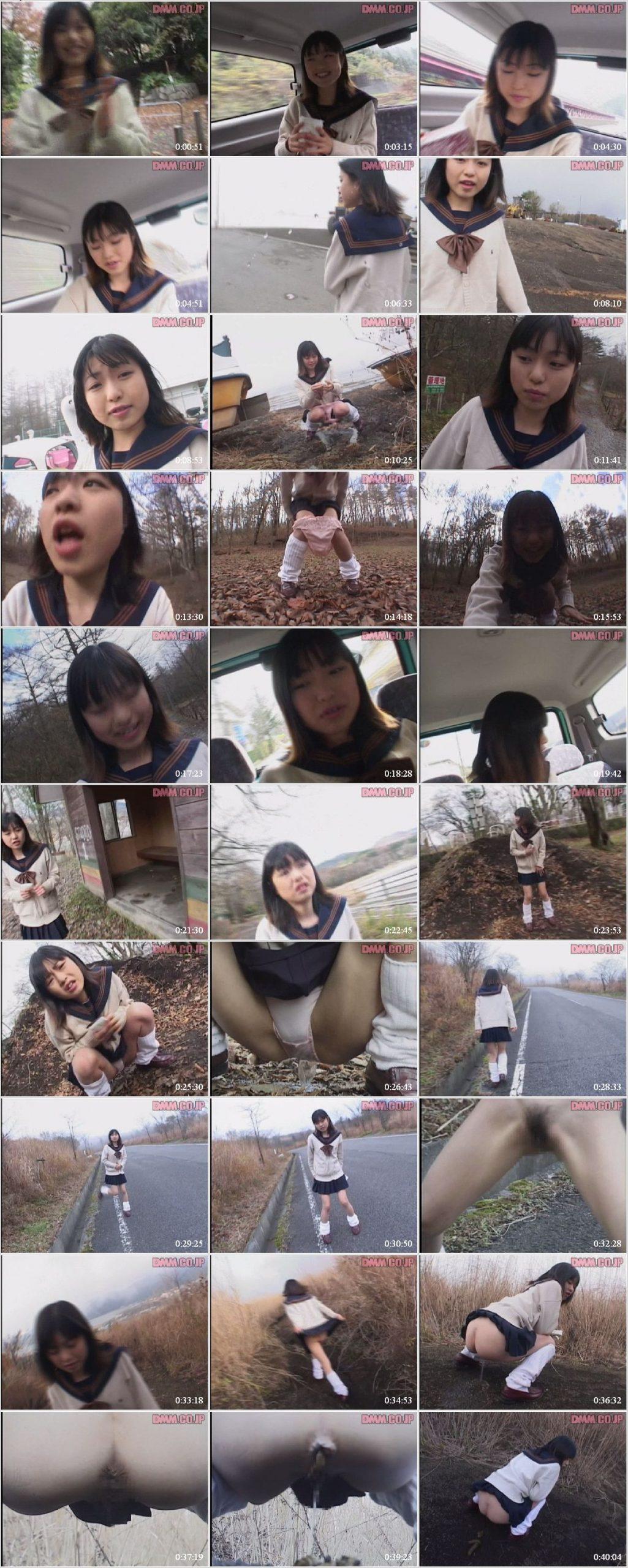 YZE 07 t scaled - [YZE-07] 屋外で女子高生アンナ倉本排泄 Scat.
